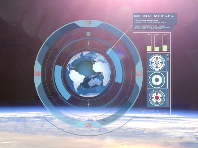 Spaceship Screen Elements