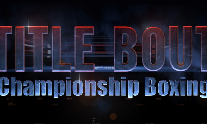 Title Bout Logo idea